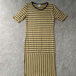 Never worn Lularoe striped Julia